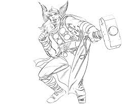 Thor Coloring Pages Photos free printable thor coloring pages for kids on hammer coloring page