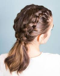Learn How To Perfect Inverted French Braids With This Step By Step