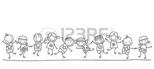 Foto Bambini Stilizzati Immagini E Vettoriali