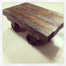 industrial cart coffee tables home