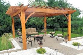 Free Standing Patio Cover Designs Beautiful Free Standing Patio