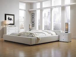 Modern Bedrooms Modern Bedroom Color Schemes With Simple Natural Wooden Master Bed