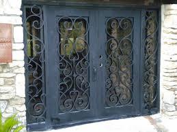 metal security screen door. Wrought Iron Security Doors Creative Home Decoration Inside Proportions 1024 X 768 Metal Screen Door