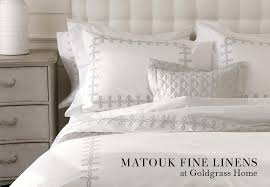 founded in 1929 by john matouk his company has been north america s premium luxury linen maker for nearly a century having learned the craft and business