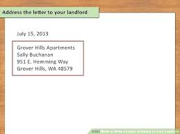 how to address a letter with a po box write a notice format how adress letter titled of your landlord step