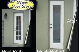 replace sliding glass door with french door bathroom exterior door with privacy etched glass replace sliding glass patio door with french doors
