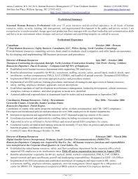 Sample Resume Hr Generalist Fresh Human Resources Generalist Sample
