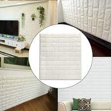 Universal 3D White Effect Stone Brick ...