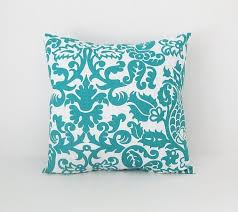 teal decorative pillows. Wonderful Pillows Teal Pillow Covers Throw Pillows Decorative 16x16 Cushion Covers On  Etsy 1600 Throughout T