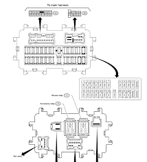 2003 nissan fuse box diagram 2003 wiring diagrams online