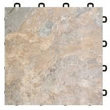 amazing interlocking vinyl tile flooring light slate vinyl top interlocking floor tile 25 pack