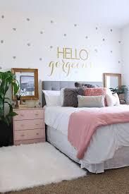 beautiful bedroom decor. Rose Gold Bedroom Decor Beautiful Surprise Teen Girl S Makeover