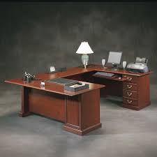 picture of sauder heritage hill executive u shaped desk