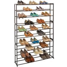 shoe rack organizer bronze image