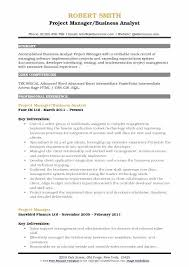 Senior Resume Template Cv Example Senior Project Manager Resume Template For Free Download