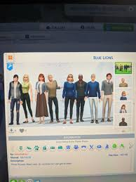 I saw someone else do this, so here's my Sims 4 rendition of the blue lions  (post time skip) : fireemblem