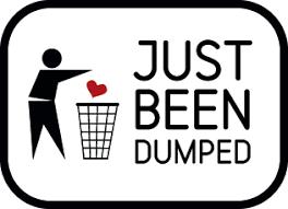 Image result for getting dumped images