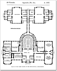file architectural measured drawings showing the floor plans of the toronto normal and model schools