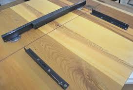 Tischfabrik24 2er Set Tischbeschläge Für Ansteckplatten Schwenkarm