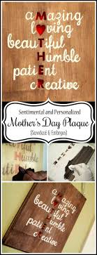 mother s day plaque cool diy mother s day gift to make s