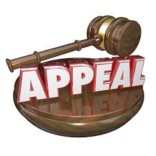 Image result for appeals procedure
