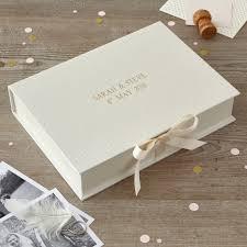 personalised wedding keepsake box keepsake bo