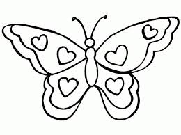 Butterfly Printable Coloring Pages Kids N Fun 56 Coloring Pages Of