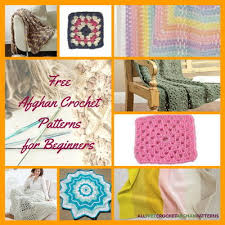 Easy Crochet Afghan Patterns Inspiration 48 Free Crochet Afghan Patterns For Beginners