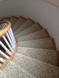 Carpet Options For Stairs Beautiful Patterned Carpet Runner For Stairs With Flowers Pattern