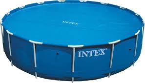 <b>Солнечное покрывало</b> для бассейнов <b>INTEX</b> Easy Set и Metal ...