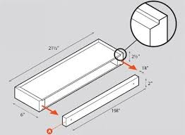 how to install floating shelves bob vila