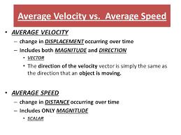 12 average velocity
