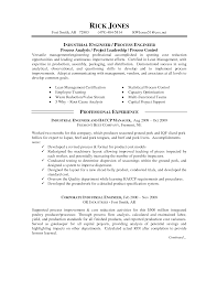 Best Solutions Of Intel Process Engineer Sample Resume In Intel
