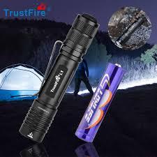 <b>Trustfire L2 Mini</b> Tactical EDC LED Flashlight 1000LM 14500 AA ...