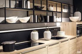 Kitchen Shelving Practical And Trendy 40 Open Shelving Ideas For The Modern Kitchen