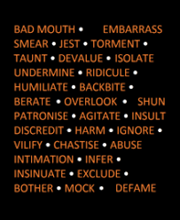 bullying  bullying synonyms