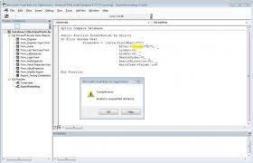 Unusual Microsoft Visual Basic On Error Resume Next Pictures