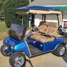 used custom club car with eltigre alligator seats