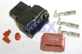 wiring connectors harness plugs 3sx 3 pin rectangle 1x3 Wire Harness Connector Kit this is a wiring harness connector plug kit that is a used on the 3000gt stealth gto, as well as many other mitsubishi vehicles wire harness connector repair kit