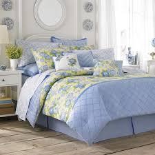 laura ashley salisbury blue yellow fl comforter set
