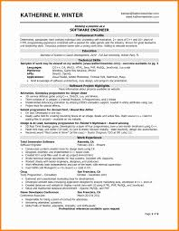 Resume Format For Technical Jobs 100 Software Developer Resume Format How To Make A Cv 92