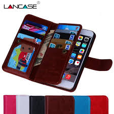for iphone 6 case magnetic 2 in 1 detachable leather wallet 9 cards slots wallet case