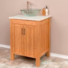 Bamboo Bathroom Sink 24 Bamboo Vessel Sink Vanity Bathroom