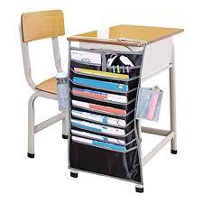 Chair Storage Pocket Chart Hanging Book Holder School Classroom Office Desk Storage Bag
