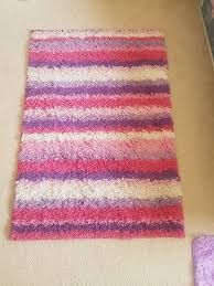 purple pink white striped area rug for in santa monica ca offerup