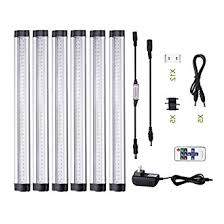 cabinet lighting 6. acebox 12 inch dimmable under cabinet lighting 6 panel deluxe kit total of