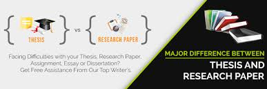 what is the difference between thesis research paper and project  this kind of research presents itself in various forms the thesis and the research paper are two of the most popular kinds