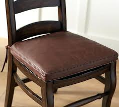 kitchen chair pads with ties images of chair cushions with ties classic leather dining chair cushion