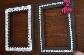 wooden picture frame decorating ideas