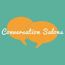 Image result for conversation salon logo